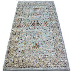 Carpet ARGENT - W7039 Flowers Blue / Cream