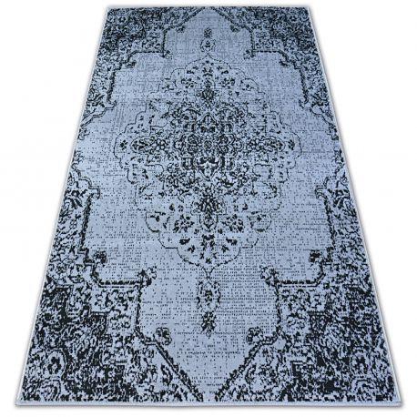 Carpet BCF BASE VINTAGE 3971 ROSETTE grey/black