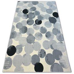 Teppich SCANDI 18461/752 - Ring creme grau schwarz