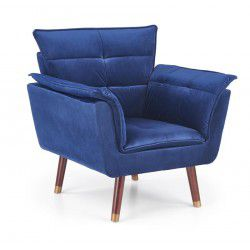 Armchair REZZO navy blue