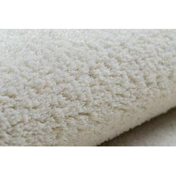 Teppich Teppichboden VELVET MICRO creme 031 eben, glatt, einfarbig