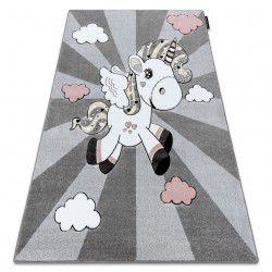 Carpet PETIT UNICORN grey