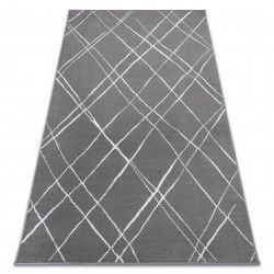 Carpet BCF ANNA Strokes 2967 Trellis dark grey
