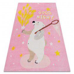 Carpet PLAY Bear stars G4016-5 pink