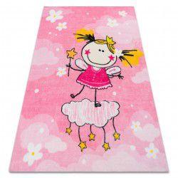 Carpet PLAY Princess girl G3629-2 pink