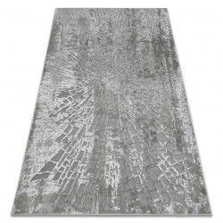 Teppich ACRYL YAZZ W8539 SPINNENNETZ grau