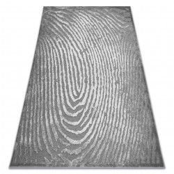 Teppich ACRYL YAZZ W8540 FINGERABDRUCK grau