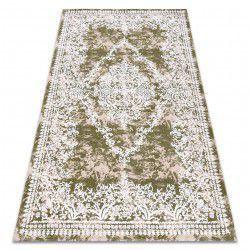 Teppich ACRYL DIZAYN 143 grün / elfenbein