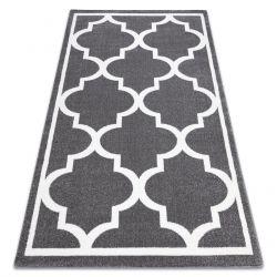 Carpet SKETCH - F730 grey /white trellis
