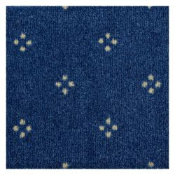 Fitted carpet CHAMBORD 077 blue