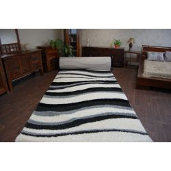 Carpet wall to wall SHAGGY 5cm design 2490 white cream