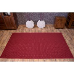 Carpet - Wall-to-wall AKTUA 116 claret