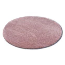 Koberec kruh SHAGGY MICRO růžový