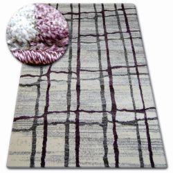 Teppich SHADOW 9359 weiß / Flieder