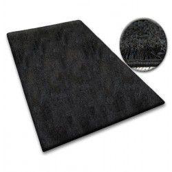 Teppichboden SHAGGY 5cm schwarz