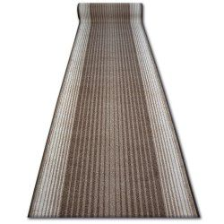 Runner anti-slip CAPITOL brown