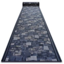 Csúszásgátló futó szőnyeg BORA szürke