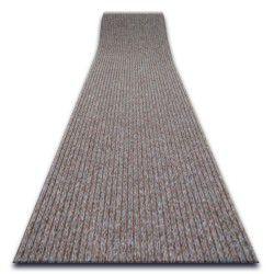 ТОЛСТЫЙ придверный ковер на погонные метры TRAPPER 012 коричневый