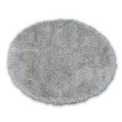 Teppich LOVE SHAGGY kreis Modell 93600 Silber