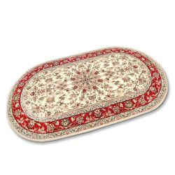 Carpet STANDARD oval SAMIR cream