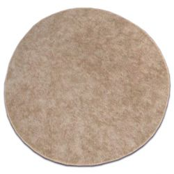 Carpet circle SERENADE light brown