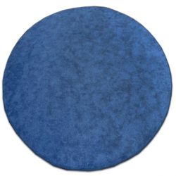 Kulatý koberec SERENADE modrý