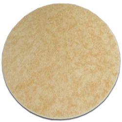 Alfombra SERENADE círculo dorado