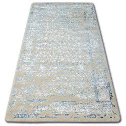 Килим AKRYL MANYAS 0920 блакитний/слонова кістка
