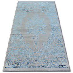 Alfombra acrílica MANYAS 0917 gris/azul