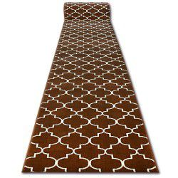 Runner BCF BASE 3770 brown trellis