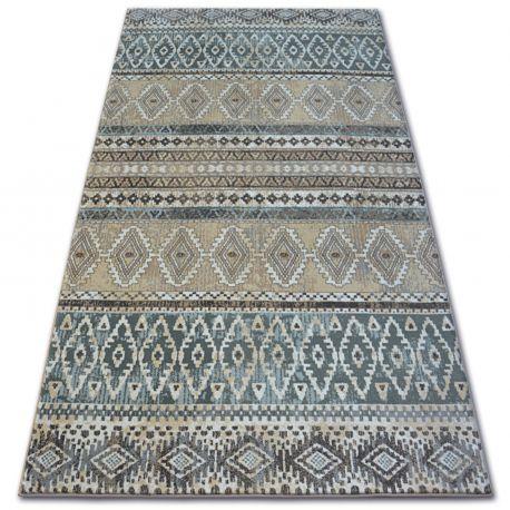 Ковер ARGENT - W4029 диаманты бежевый / кремовый
