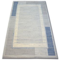 Teppich Wolle MOON DUST Silber