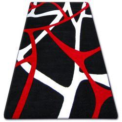 Carpet TIGA 5244A beyaz/siyah