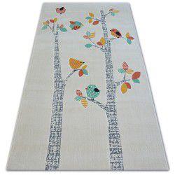 Teppich PASTEL 18405/063 - Vögel creme