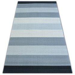 Килим SCANDI 18247/572 - смужки ремені сірий