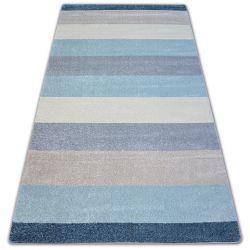 Teppich NORDIC STREIFEN creme/blau G4577