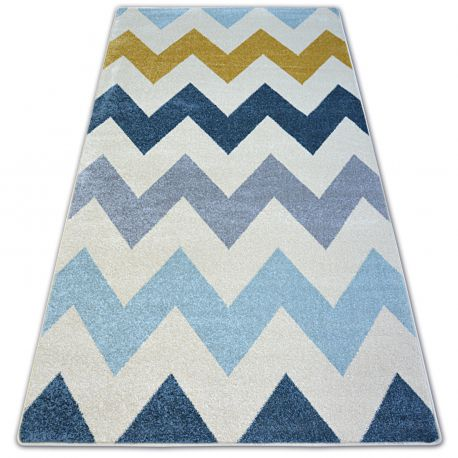 Carpet NORDIC ZIGZAG yellow FA66