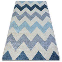 Nordic szőnyeg Cikcakk kék FA66