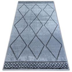 Alfombra BCF BASE ETNO 3964 Diamantes gris/negro