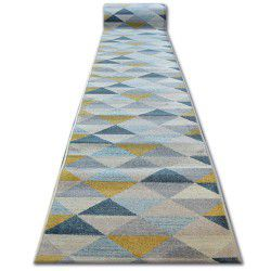 Runner NORDIC TRIANGLES grey/cream G4580