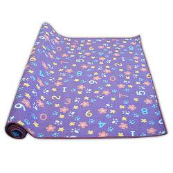 Moquette tappeto per bambini Numbers viola cifre, alfabeto, numeri