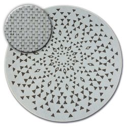 Alfombra de cuerda sisal FLAT círculo 48715/768 Vidriero