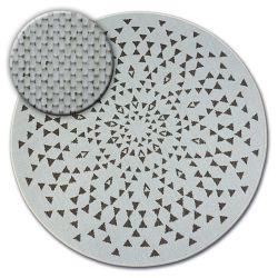 Kulatý koberec FLAT 48715/768 SISAL - vitráže