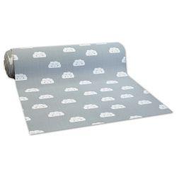Antypoślizgowa wykładzina dywanowa pour enfants CLOUDS gris