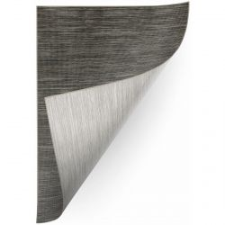 Carpet DOUBLE 29201/092 graphite melange/melange beige/grey double-sided