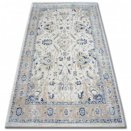 Carpet ARGENT - W7040 Cream / Blue