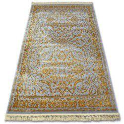 Akril manyas szőnyeg 194AA Szürke/Arany rojt