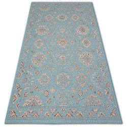 Teppich COLOR 19521/840 SISAL Tradition Klassisch Türkis