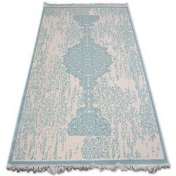 Carpet ACRYLIC MIRADA 5410 Blue ( Mavi ) Fringe