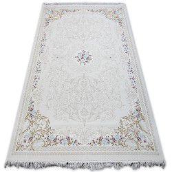 Teppich ACRYL MIRADA 5413 Elfenbein ( Kemik ) Franse